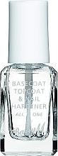 Voňavky, Parfémy, kozmetika Báza a vrchný lak na nechty - Barry M All In One Nail Paint