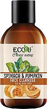 """Voňavky, Parfémy, kozmetika Gél na umývanie """"Tekvica a špenát"""" - Eco U Pumpkins And Spinach Face Cleanser"""