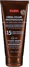 Voňavky, Parfémy, kozmetika Hydratačný krém s ochranou pred slnkom SPF 15 - Pupa Multifunction Sunscreen Cream