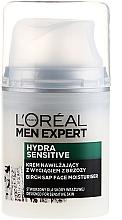 Voňavky, Parfémy, kozmetika Hydratačný krém s brezovým extraktom pre citlivú pokožku - L'Oréal Paris Men Expert Hydra Sensitive 25+