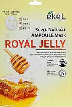 """Voňavky, Parfémy, kozmetika Látková maska """"Materská kašička"""" - Ekel Super Natural Ampoule Royal Jelly"""