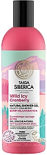 """Voňavky, Parfémy, kozmetika Sprchový gél """"Lesná mrazivá brusnica"""" - Natura Siberica Doctor Taiga Wild Icy Cranberry Natural Shower Gel"""