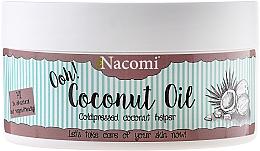 """Voňavky, Parfémy, kozmetika Olej """"Kokosový orech, nerafinovaný"""" - Nacomi Coconut Oil 100% Natural Unrefined"""