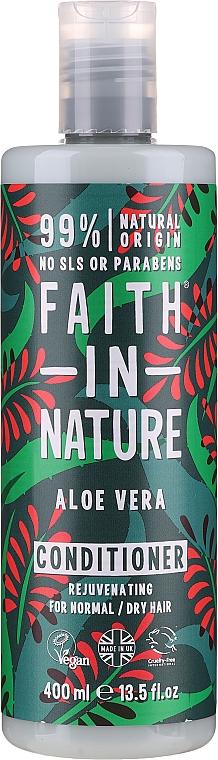 """Kondicionér pre normálne až suché vlasy """"Aloe Vera"""" - Faith In Nature Aloe Vera Conditioner"""