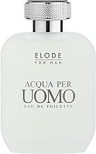 Voňavky, Parfémy, kozmetika Elode Acqua Per Uomo - Toaletná voda