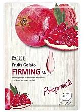 Voňavky, Parfémy, kozmetika Maska na tvár, posilnenie granátovým jablkom - SNP Fruits Gelato Firming Mask