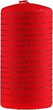 Voňavky, Parfémy, kozmetika Dekoratívna sviečka, červená, 7x10cm - Artman Candle Andalo