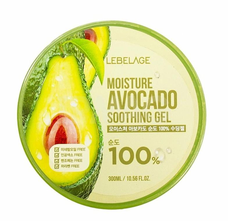 Pleťový gél - Lebelage Moisture Avocado 100% Soothing Gel