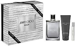 Voňavky, Parfémy, kozmetika Jimmy Choo Man - Sada (edt/100ml + edt/7.5m + afsh/balm/100ml)