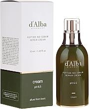 Voňavky, Parfémy, kozmetika Vyvažujúci peptidový krém - D'Alba Peptide No-Sebum Repair Cream