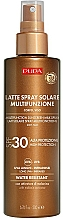 Voňavky, Parfémy, kozmetika Mlieko na telo a tvár s ochranou pred slnkom SPF 30 - Pupa Multifunction Sunscreen Milk Spray