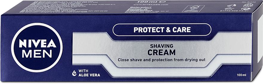 "Krém na holenie ""Classic"" - Nivea For Men Protect & Care Shaving Cream — Obrázky N1"