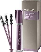Voňavky, Parfémy, kozmetika Maskara - M2Beaute Quick-Change Artists 3 Look Black Nano Mascara