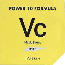 Voňavky, Parfémy, kozmetika Tonizujúca textilná maska - It's Skin Power 10 Formula Mask Sheet VC