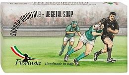"""Voňavky, Parfémy, kozmetika Prírodné mydlo """"Rugby"""" - Florinda Sport & Spezie Natural Soap"""
