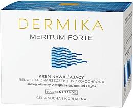 Voňavky, Parfémy, kozmetika Zvlhčujúci krém pre tvár - Dermika Meritum Forte Face Cream