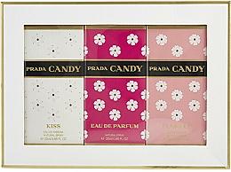 Voňavky, Parfémy, kozmetika Prada Candy Gift Set - Sada (edp/20ml + edp/20ml + edt/20ml)