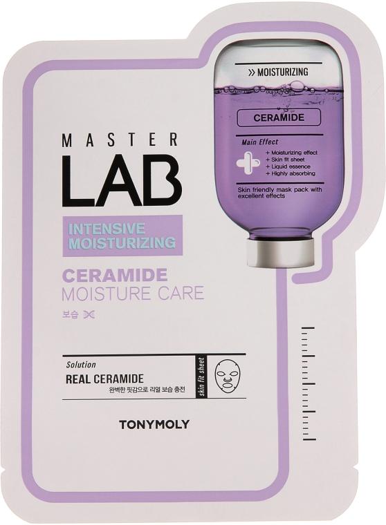 Látková maska na tvár s ceramidmi - Tony Moly Master Lab Ceramide Mask