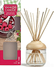 """Voňavky, Parfémy, kozmetika Aromatický difúzor """"Červená malina"""" - Yankee Candle Reed Diffuser Red Raspberry"""