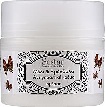 Voňavky, Parfémy, kozmetika Krém na tvár s medom a mandľovým olejom - Sostar Honey & Almonds Face Cream