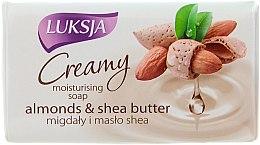 Krém-mydlo s mandľou a maslom shea - Luksja Creamy Almond Shea Butt Soap — Obrázky N1