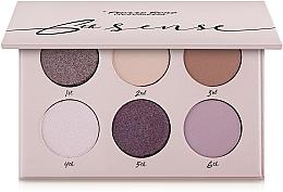 Voňavky, Parfémy, kozmetika Paleta očných tieňov, 6 odtieňov - Pierre Rene 6th Sense Eyeshadow Palette