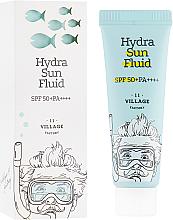 Voňavky, Parfémy, kozmetika Fluid s ochranou pred slnkom - Village 11 Factory Hydra Sun Fluid SPF 50+ PA++++