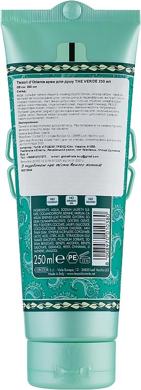 Tesori d`Oriente Matcha Green Tea - Sprchový krémový gél  — Obrázky N2