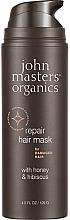 Voňavky, Parfémy, kozmetika Obnovujúca maska na vlasy, med a ibištek - John Masters Organics Honey & Hibiscus Mask