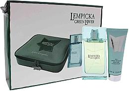 Voňavky, Parfémy, kozmetika Lolita Lempicka Green Lover - Sada (edt/100ml + afsh/gel/75ml + pouch)