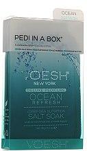 "Voňavky, Parfémy, kozmetika Sada na pedikúru ""Oceán obnovení"" - Voesh Deluxe Pedicure Ocean Refresh Pedi In A Box 4 in 1"