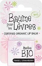"""Voňavky, Parfémy, kozmetika Balzam na pery """"Jahoda"""" - Marilou Bio Certified Organic Lip Balm"""