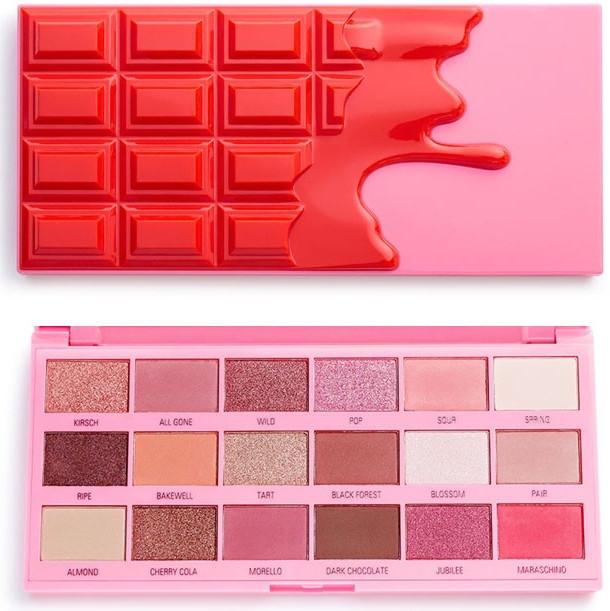 Paleta očných tieňov - I Heart Revolution Eyeshadow Chocolate Cherry Palette — Obrázky N1