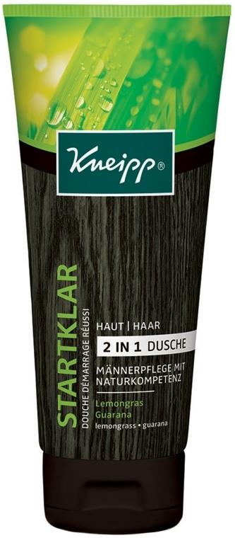 Sprchový gél a šampón 2 v 1 - Kneipp Startklar Lemongras Guarana — Obrázky N1