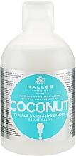 Voňavky, Parfémy, kozmetika Výživový a spevňujúci šampón s kokosovým olejom - Kallos Cosmetics Coconut Shampoo