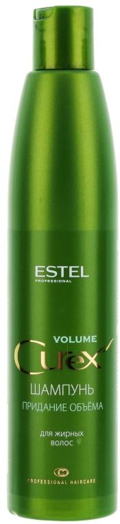 Šampón aby sa dosiahol objem - Estel Professional Curex Volume Shampoo for Oily Hair