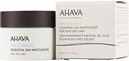 Voňavky, Parfémy, kozmetika Hydratačný krém na veľmi suchú pleť - Ahava Time To Hydrate Essential Day Moisturizer Very Dry Skin