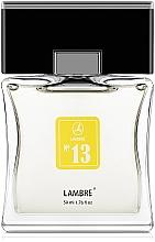 Voňavky, Parfémy, kozmetika Lambre № 13 - Toaletná voda