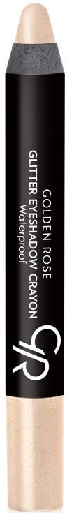 Tieňová ceruzka na očí - Golden Rose Glitter Eyeshadow Crayon Waterproof