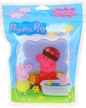 """Voňavky, Parfémy, kozmetika Hubka do kúpeľa """"Peppa Pig"""", na bicykli, ružová - Suavipiel Bath Sponge"""
