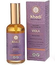 """Voňavky, Parfémy, kozmetika Olej na tvár a telo """"Violet"""" - Khadi"""