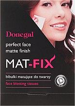 Voňavky, Parfémy, kozmetika Matujúce obrúsky pre tvár - Donegal Face Blotting Tissues Mat-Fix