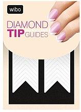 Voňavky, Parfémy, kozmetika Francúzska nálepka na manikúru šablóny - Wibo Diamond Manicure Tip Guides