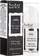 Voňavky, Parfémy, kozmetika Pánske sérum na vlasy - Sostar Donkey Milk Men Anti-Hair Loss Serum