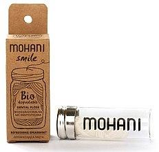 Voňavky, Parfémy, kozmetika Biologicky rozložiteľná dentálna niť, mätová - Mohani Smile Dental Floss