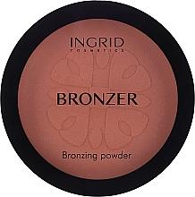 Voňavky, Parfémy, kozmetika Bronzer-prášok - Ingrid Cosmetics HD Beauty Innovation Bronzing Powder