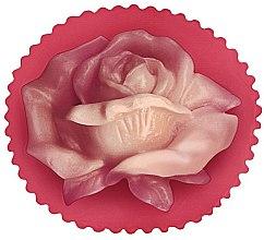"""Voňavky, Parfémy, kozmetika Glycerínové mydlo """"Kvet ruže"""", červené - Bulgarian Rose Glycerin Fragrant Soap Rose Valley"""
