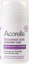 """Voňavky, Parfémy, kozmetika Minerálne osviežujúci dezodorant """"Mandľový harmanček"""" - Acorelle Deodorant Care"""