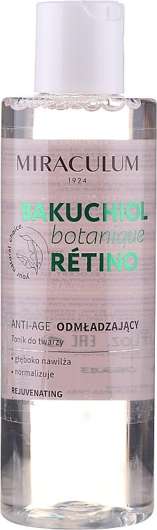 Omladzujúce tonikum na tvár - Miraculum Bakuchiol Botanique Retino Tonic