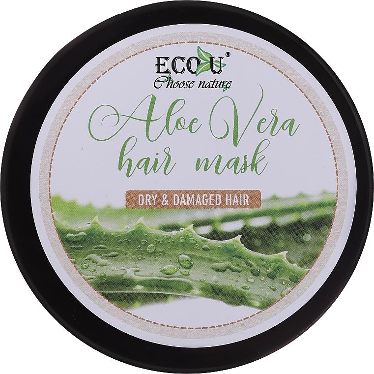 Maska na suché a poškodené vlasy - Eco U Aloe Mask